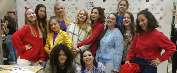 Студенты ИБХ приняли участие в Welcome party