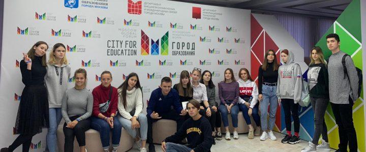 """Ознакомительная практика студентов ФДПиП в """"Лаборатории дошкольника"""" МЦКО"""