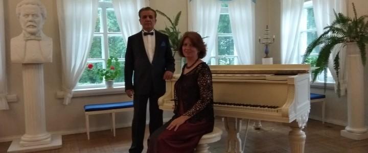 Педагоги Института изящных искусств МПГУ выступили в Мемориальном музее-усадьбе М.П. Мусоргского