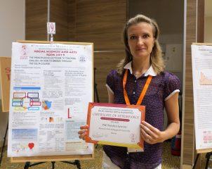 Доцент кафедры фонетики и лексики английского языка МПГУ представила два доклада на 6-ой международной конференции SGEM