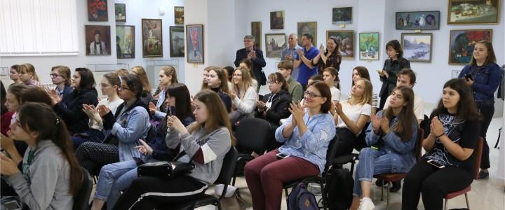 Первокурсники Художественно-графического факультета Института изящных искусств МПГУ посетили выставочный комплекс в Люберецком краеведческом музее