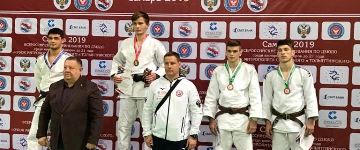 Руслан Нурмагомедов занял 3 место на Всероссийском турнире по дзюдо