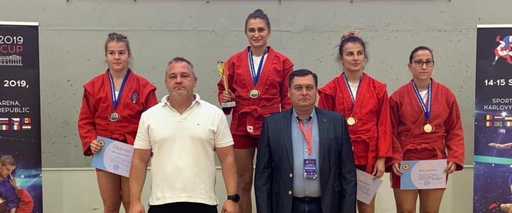 Яна Шевченко обладательница Кубка Европы по самбо