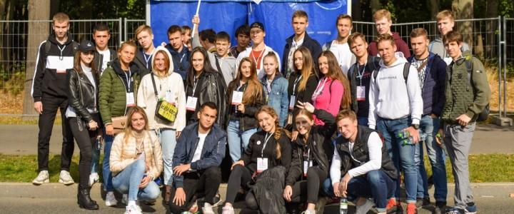 ИФКСиЗ на Московском Параде Студентов