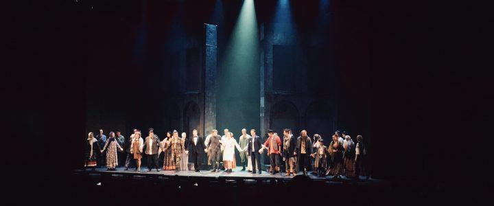 Лицеисты в театре мюзикла: рок-опера «Преступление и наказание»