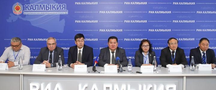 Москва-Элиста-Пекин: научно-образовательный мост заложен