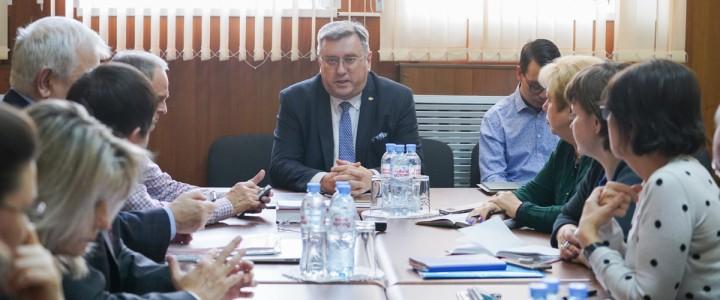 В МПГУ состоялось заседание ректората