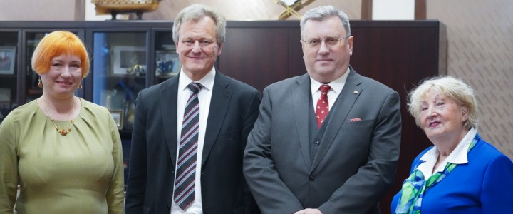 Ректор МПГУ встретился с исполнительным директором Немецкого общества