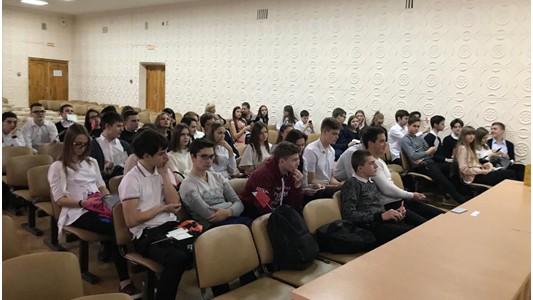 «Профориентационная неделя»   Ставропольского филиала МПГУ охватила школьников Ставрополя