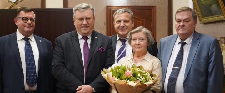 Жанна Болотова в МПГУ: «Роль педагога – огромна в жизни человека»