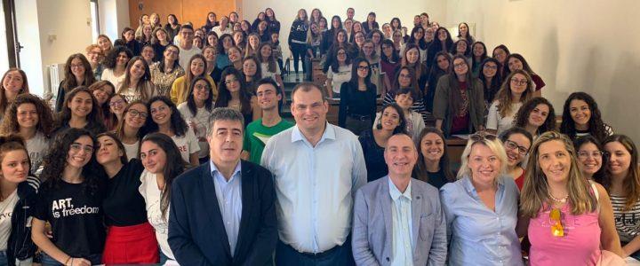 Италия — Россия: новая педагогика. М.А. Гончаров, д.п.н., профессор, выступил с публичной лекцией в Италии.