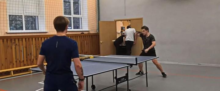 Открытый турнир по настольному теннису, посвященный Юбилею Геофака