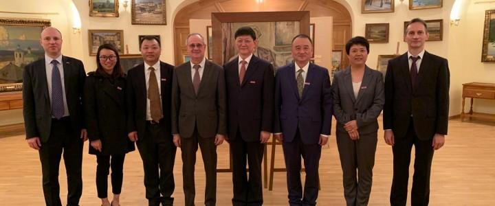 Визит делегации Нанкинского университета в МПГУ