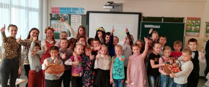 Праздник спелых яблок со студентами Факультета дошкольной педагогики и психологии МПГУ