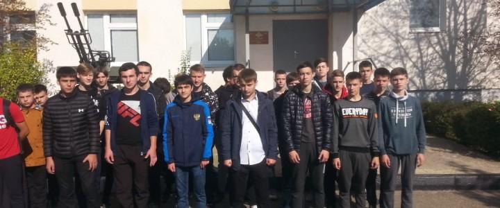 Студенты Ставропольского филиала МПГУ приняли участие в акции «День призывника»