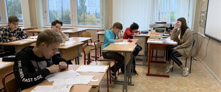 Наши студенты приняли участие в организации и проведении Турнира имени М.В. Ломоносова