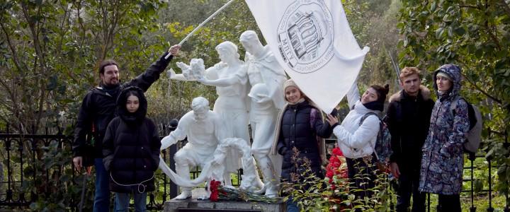 Студенты ИБХ на Вахте Памяти