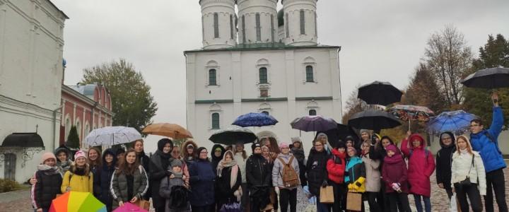 Город сладкий и атмосферный: лицеисты побывали в Коломне