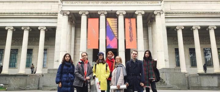 По мотивам Йорданса, или лицеисты-художники в Пушкинском музее