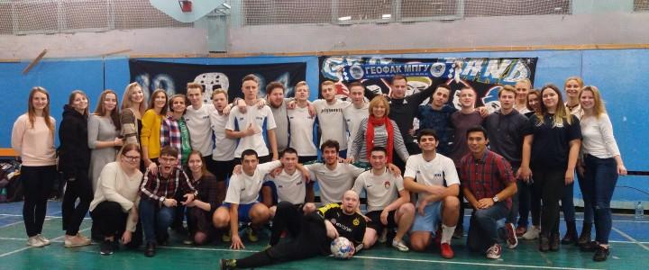 Сборная Геофака по футболу – Чемпион 2019 года!