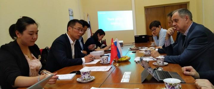 Визит делегации китайской компании iFLYTEK в МПГУ