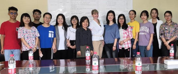 Cотрудничество Института математики и информатики с Педагогическим Университетом Центрального Китая