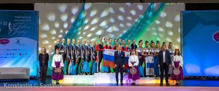 Команда по эстетической гимнастике «Мадонна» стала победителем III этапа Кубка мира