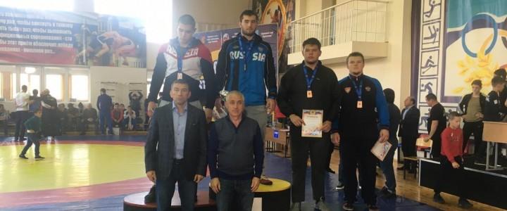Кантемир Шибзухов занял 1 место среди юниоров по Греко-римской борьбе