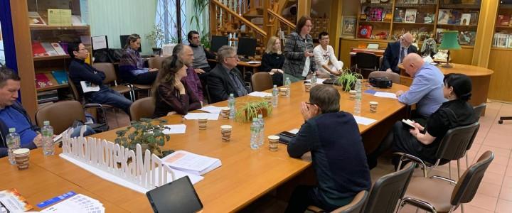 Расширенное заседание кафедры рисунка по обсуждению кандидатских диссертаций