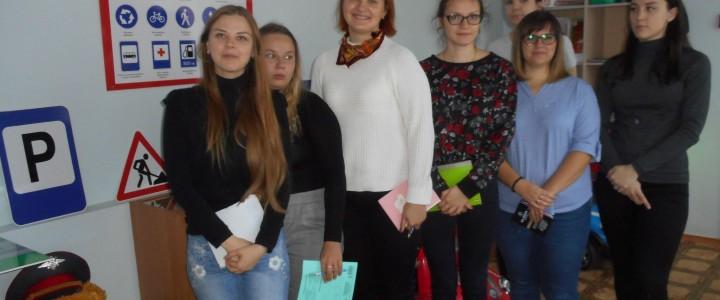 Студенты Сергиево-Посадского филиала МПГУ на практике