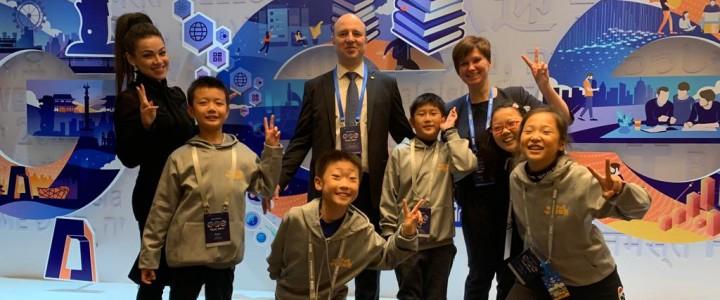 Ректор МПГУ А.В. Лубков рассказал о достижениях и уникальности российской школы на Глобальном образовательном саммите в Пекине