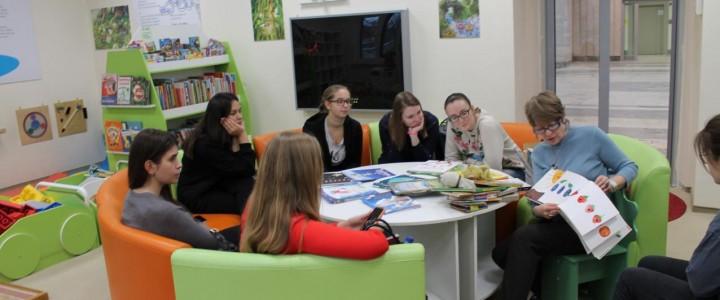 Специальный семинар для студентов Института детства в Российской государственной детской библиотеке