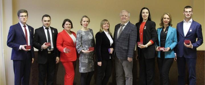 В Российской академии образования вручены медали «Молодым ученым за успехи в науке»