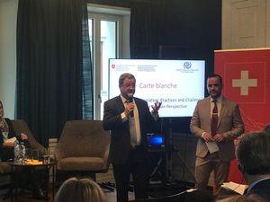 Представитель Факультета регионоведения и этнокультурного образования ИСГО МПГУ приняла участие в экспертной встрече «Миграция и интеграция»