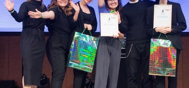 Победа команды под руководством студентки магистратуры  на конкурсе фестиваля короткометражных фильмов и фестиваля вожатских танцев на Всероссийском конкурсе вожатых