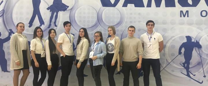 Студенты факультета педагогики и психологии в Центре спорта и образования «Самбо-70»