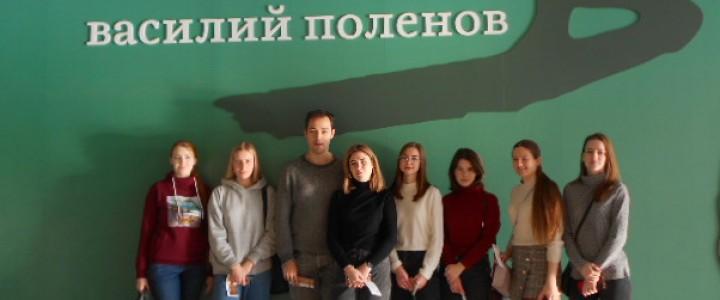 Студенты Художественно-графического факультета ИИИ МПГУ посетили выставку В.Д.Поленова в Третьяковской галерее