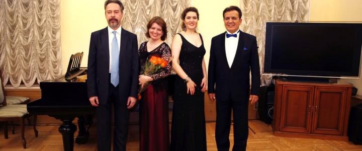 Преподаватели факультета музыкального искусства выступили в Государственном музее Л.Н. Толстого