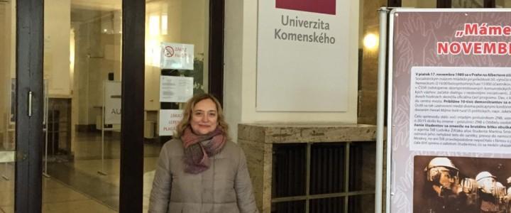 Профессор Факультета дошкольной педагогики и психологии на ежегодном заседании Европейской ассоциации в Братиславе
