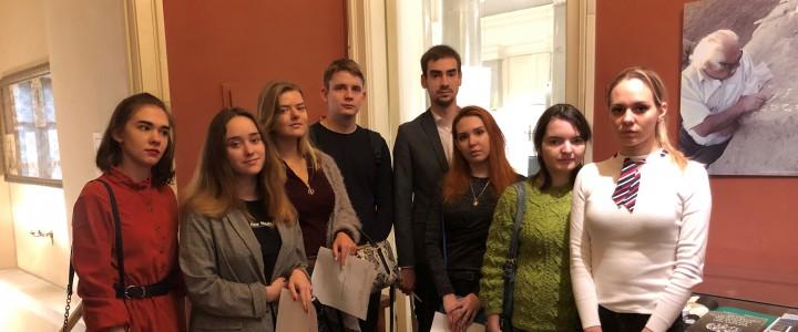 Студенты ИСГО в Государственном музее Востока