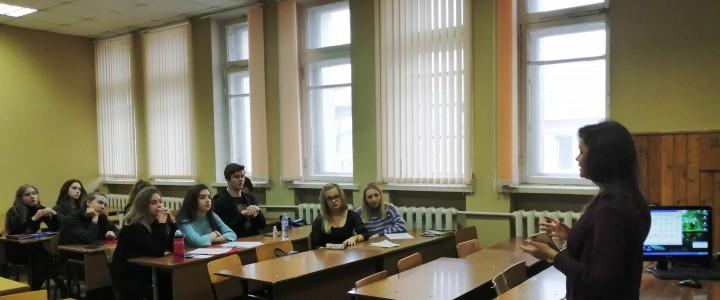 Встреча студентов факультета педагогики и психологии с сотрудником синодального отдела по делам молодежи Русской православной церкви