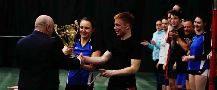 Институт математики и информатики выиграл Кубок Ректора по волейболу