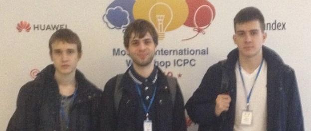 Наши студенты прошли тренировочные сборы по Международной программе Moscow International Workshop ICPC 2019