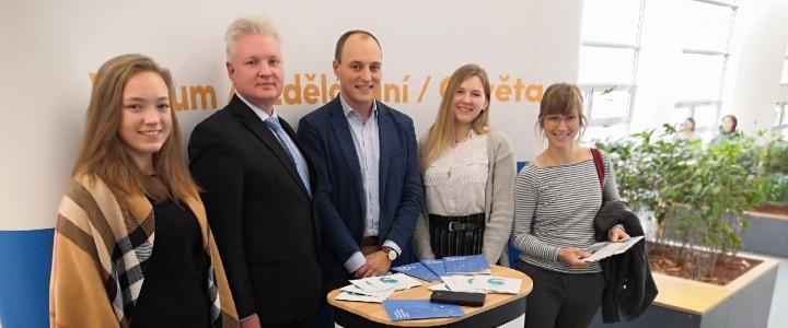 Студенты 2 курса ИМО выступили на международной конференции в Праге