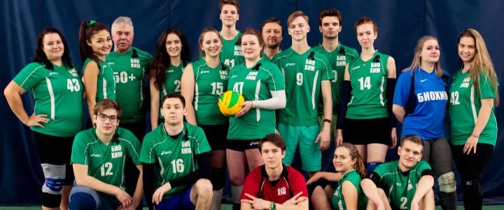 Поздравляем серебряных медалистов Кубка Ректора по волейболу 2019