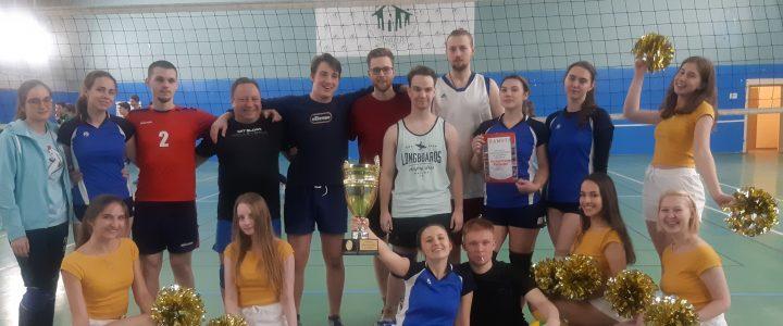 Наша команда по волейболу выиграла Кубок ректора!