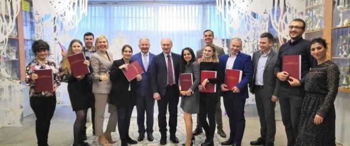 В Анапском филиале МПГУ состоялся первый выпуск магистрантов!