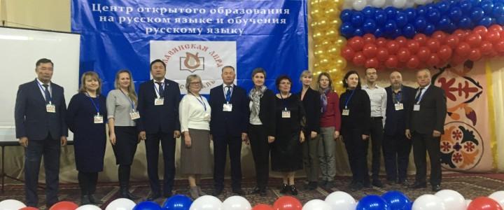 Учителя сельских школ с преподаванием на русском языке проходят повышение квалификации на Иссык-Куле