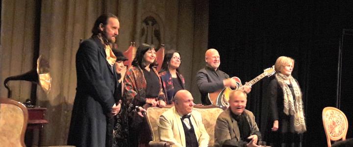 Лицеисты в «Театральной лаборатории п/р Аркадия Каца»: спектакль «Юбилей»