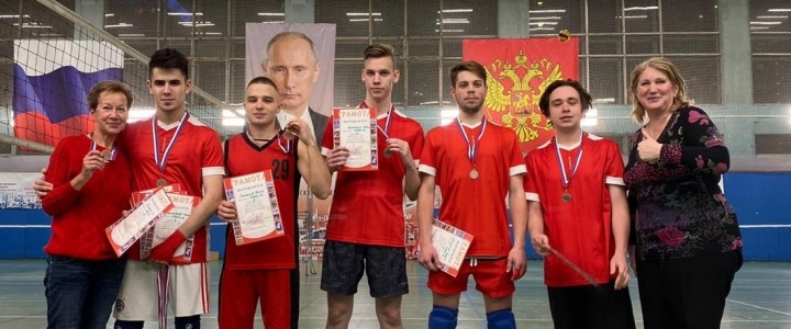 ИЖКМ – призёр XXX Спартакиады МПГУ по волейболу